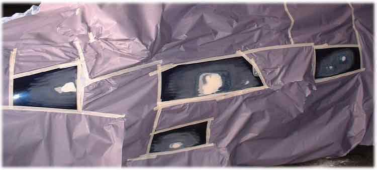 le peintre du dimanche chezjc peinture d 39 l ments sur une voiture vernis le pon age. Black Bedroom Furniture Sets. Home Design Ideas